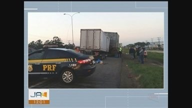 Homem morre em acidente na BR-101 em Imbituba - Homem morre em acidente na BR-101 em Imbituba
