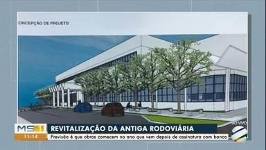 Comerciantes estão animados com revitalização da antiga rodoviária em Campo Grande. - Revitalização da antiga rodoviária deve custar R$ 22 milhões.