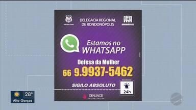 Polícia divulga telefone com WhatsApp para denúncias de violência contra a mulher - Polícia divulga telefone com WhatsApp para denúncias de violência contra a mulher.