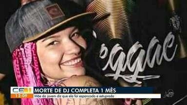 Morte de DJ completa 1 mês e mãe cobra investigação do crime - Saiba mais em g1.com.br/ce