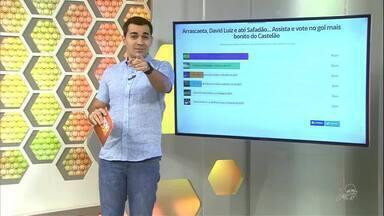 Enquete: Gol de Wesley Safadão passa Gustavo e é eleito o mais bonito do Castelão - Enquete: Gol de Wesley Safadão passa Gustavo e é eleito o mais bonito do Castelão