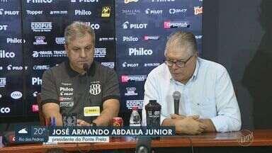 Ponte apresenta Gilson Kleina nesta quarta - Na quarta passagem pelo time, treinador tem a missão de levar Macaca à série A do Brasileirão.
