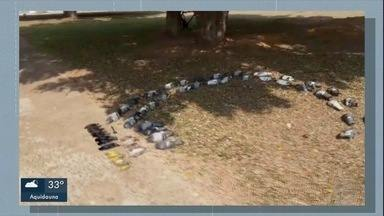 Polícia investiga mortes de pássaros - Policiais da Delegacia Especializada de Repressão aos Crimes Ambientais conversaram com moradores e tentam desvendar o mistério.