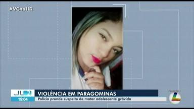 Polícia prende suspeito de matar adolescente grávida em Paragominas, no PA - Crime foi em julho. Antonio Oliveira foi preso quando tentava fugir do município.