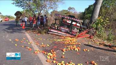 Motorista morre em acidente na BR-316 - Acidente aconteceu durante a tarde na região de Caxias.