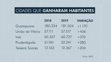 Estimativa do IBGE mostra que Guarapuava teve aumento na população - De 2018 para 2019 o número de habitantes cresceu em 1.170.