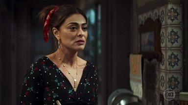 Maria da Paz diz que não perdoará Régis - Ela conta a Marlene e Evelina que o marido a procurou