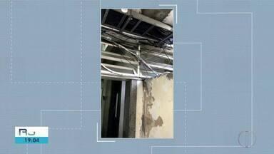 Cremerj aponta mais de 300 inconformidades no Hospital Geral de Guarus, em Campos - Outras unidades também foram inspecionadas. Há risco de curto-circuito e de desabamento.