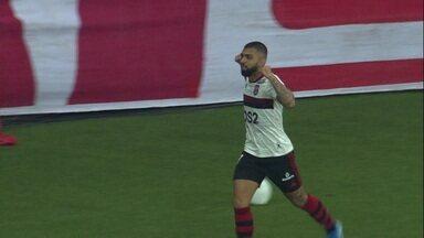 Os gols de Internacional 1 x 1 Flamengo pelas quartas-de-final da Libertadores - Os gols de Internacional 1 x 1 Flamengo pelas quartas-de-final da Libertadores