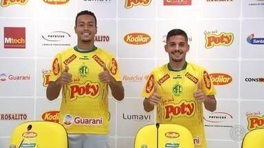 Mirassol apresenta reforços para segunda fase da Copa Paulista - Mirassol apresenta reforços para segunda fase da Copa Paulista
