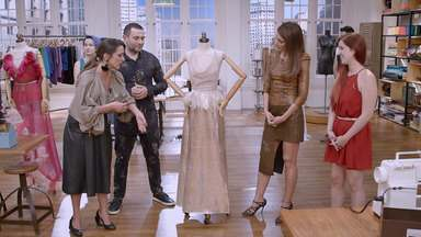 Baile à fantasia - O tema é baile de gala à fantasia. Os costureiros têm o desafio de transformar peças e ainda criar vestidos incríveis para um baile VIP.