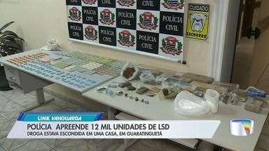 Polícia apreende drogas sintéticas e prende homem em Guará - Prisão foi na quinta-feira (29).