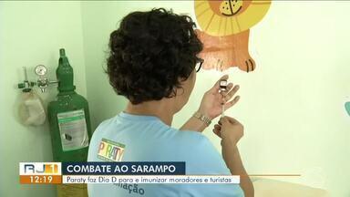 Paraty emite alerta à população para imunização contra Sarampo - Cidade registra doze casos confirmados da doença.
