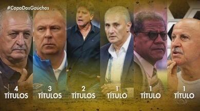 Copa do Brasil completa 30 anos e tem o RS como segundo estado com maior número de títulos - RBS TV transmite jogos de Grêmio e Inter na Copa do Brasil.