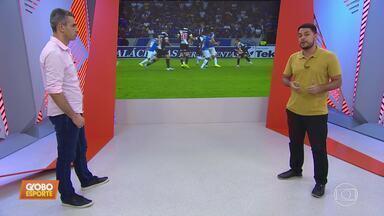 Henrique Fernandes analisa as atuações de Cleiton, do Atlético-MG, e Maurício, do Cruzeiro - Henrique Fernandes analisa as atuações de Cleiton, do Atlético-MG, e Maurício, do Cruzeiro