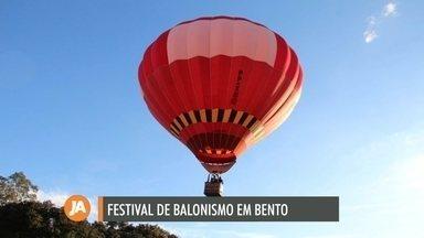 Bento Gonçalves recebe festival de balonismo em setembro - Lançamento do evento ocorre nesta segunda-feira (02).