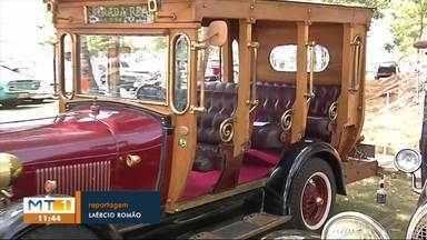 Encontro reúne colecionadores de carros antigos de todo o país - Encontro reúne colecionadores de carros antigos de todo o país
