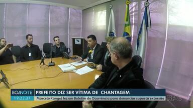 Prefeito Marcelo Rangel diz ser vítima de chantagem - O prefeito fez um Boletim de Ocorrências para denunciar a suposta extorsão.