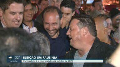 Du Cazellato, do PSDB, é eleito prefeito de Paulínia em eleição suplementar - Pleito ocorreu no último domingo (1). Novo chefe do executivo teve 13.119 votos e fica no cargo até dezembro de 2020.