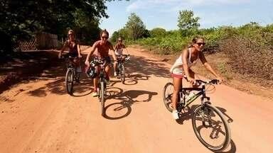 Pará - Parte 1 - Julia Ericson, Raquel Iendrick, Charlotte Bucher e a nova apresentadora Carol Guarnieri visitam, de bike, locais paradisíacos, Neste episódio: Pará
