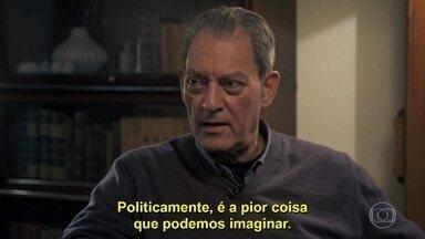 Paul Auster analisa o cenário político mundial - Caetano W. Galindo e Sérgio Rodrigues também comentam o momento atual da política brasileira
