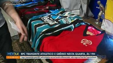 É nesta quarta! Athletico e Grêmio na RPC - Times se enfrentam às 19h, com transmissão ao vivo.