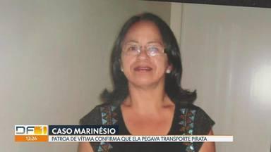 Delegacia do Paranoá recebe duas mulheres para reconhecimento de Marinésio - Ex-patroa de babá desaparecida em 2015 conta como era a rotina da empregada. Caso também é suspeito de ter relação com o cozinheiro que já confessou ter matado a advogada Letícia Curado e a diarista Genir Pereira.