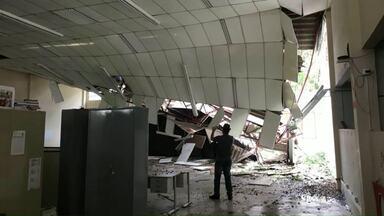 CEEBJA é reformado após destruição em tempestade - Aulas voltaram ao normal na instituição.
