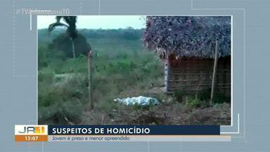 Suspeitos de homicídio são detidos pela polícia em Araguaína - Suspeitos de homicídio são detidos pela polícia em Araguaína