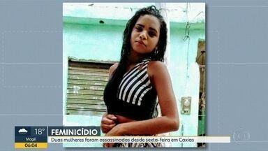 Polícia investiga dois casos de feminicídio em Duque de Caxias - A Polícia investiga a morte de Alessandra de Freitas, ela saiu na quinta (29) para um encontro, mas foi assassinada. Outro caso de feminicídio foi da jovem Tailane, a vítima foi queimada pelo namorado.