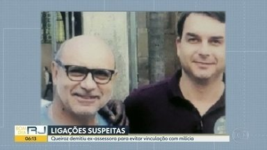 Queiroz demitiu ex-assessora para evitar vinculação com milícia - Funcionária trabalhou no gabinete do então deputado estadual Flávio Bolsonaro.