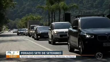 Feriado da Independência movimenta Rio-Santos, em Angra e Paraty - Turistas escolheram litoral para descansar e curtir o dia.