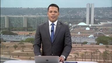 DF1 - Edição de sábado, 07/09/2019 - Brasiliense acorda cedo para acompanhar desfile de 7 de Setembro na Esplanada. Bandidos fazem um arrastão e roubam celulares de trabalhadores que chegavam para trabalhar no Sia.