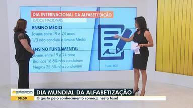 Domingo é Dia Internacional da Alfabetização - Psicopedagoga analise dados sobre a educação no Brasil.