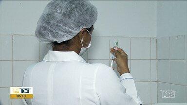 Postos de Saúde disponibilizam doses da vacina contra o sarampo em Imperatriz - Segundo o Ministério da Saúde, a prioridade é vacinar todas as crianças que residem na cidade.