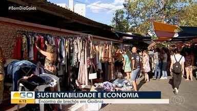 Grupo promove encontro de brechós, em Goiânia - Intenção é promover a sustentabilidade e economia para a comunidade.