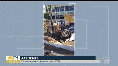 Um morre e duas ficam feridas em acidentes de trânsito durante o final de semana no Piauí - Um morre e duas ficam feridas em acidentes de trânsito durante o final de semana no Piauí