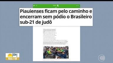 Piauienses encerram sem pódio o Brasileiro Sub-21 de judô - Piauienses encerram sem pódio o Brasileiro Sub-21 de judô
