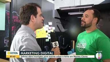 Sebrae oferece curso de marketing digital em Montes Claros - As inscrições já estão abertas.