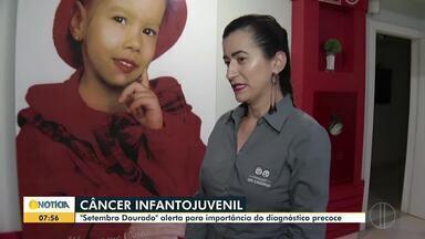 Setembro Dourado alerta para câncer infantojuvenil - O diagnóstico precoce é importante na hora do tratamento.