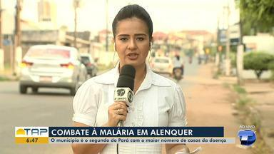 Ação de prevenção e combate à malária é desenvolvida em Alenquer - Mais de 900 casos foram registrados no município.