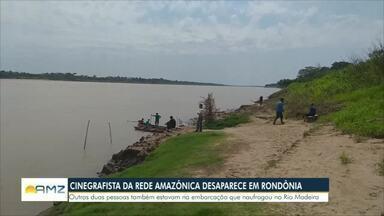 Três pessoas desaparacem no rio Madeira após naufrágio em Porto Velho - Eles estavam em uma embarcação próximo a comunidade de Porto Chuelo
