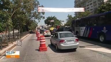 Ponte do Jaguaré é liberada nos 2 sentidos - Prefeitura fez obras após incêndio atingir estrutura, em junho.