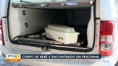 Corpo de bebê é encontrado em Pracinha - Polícia Civil investiga o caso.