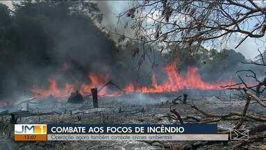 Operação de combate aos fogos reduz 90% dos incêndios no Maranhão - Diversas instituições, como Corpo de Bombeiros e Exército, participaram da ação e continuam mobilizados.