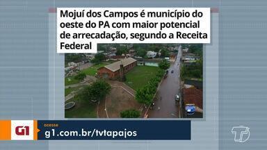 Potencial de arrecadação de Mojuí dos Campos é destaque no G1 Santarém e região - Confira esta e outras notícias acessando o portal.
