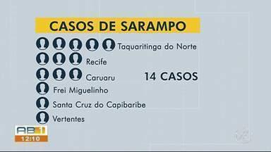 Taquaritinga do Norte inicia 'varredura' para vacinar moradores contra sarampo - No sábado (7) foi realizado o dia D da campanha de vacinação contra sarampo, imunizando cerca de 2 mil moradores do município.