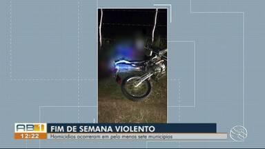 Homicídios são registrados em sete cidades do Agreste e Sertão de Pernambuco - Mortes foram registrados em Palmares, Garanhuns, Caruaru, Pedra, Toritama, Itaíba e Petrolândia.