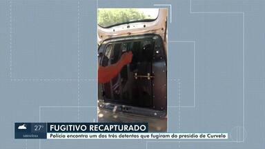 Polícia encontra homem que fugiu de presídio em Curvelo - Homem de 28 anos foi recapturado no Bairro Bela Vista II.