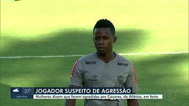 Cazares é suspeito de agredir mulheres durante festa em Lagoa Santa - A agressão às duas mulheres, teria ocorrido durante uma festa, na casa do jogador do Atlético-MG.